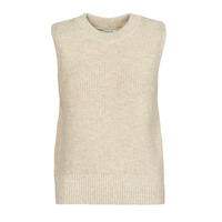 vaatteet Naiset Neulepusero Only ONLPARIS Beige