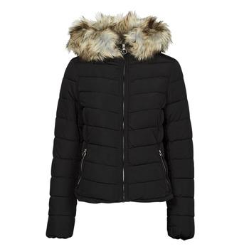 vaatteet Naiset Toppatakki Only ONLNEWELLAN Musta