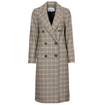 vaatteet Naiset Paksu takki Only ONLZOEZUE Ruskea