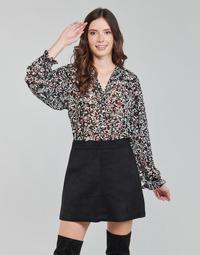 vaatteet Naiset Topit / Puserot Only ONLMELINA Musta / Monivärinen