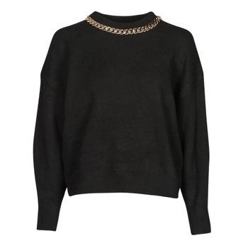 vaatteet Naiset Neulepusero Moony Mood PABOENE Musta