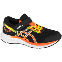 kengät Lapset Juoksukengät / Trail-kengät Asics Pre Excite 6 PS Noir