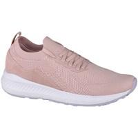 kengät Naiset Matalavartiset tennarit 4F OBDL202 Vaaleanpunaiset
