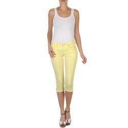 vaatteet Naiset Caprihousut Mustang Jasmin cropped Yellow