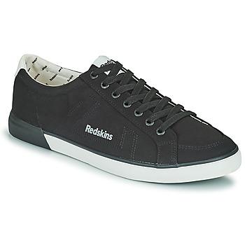 kengät Miehet Matalavartiset tennarit Redskins SABARI2 Musta / Valkoinen