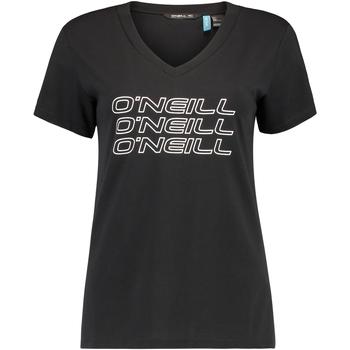 vaatteet Naiset Lyhythihainen t-paita O'neill Triple Stack Musta