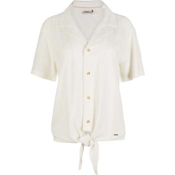 vaatteet Naiset Paitapusero / Kauluspaita O'neill Cali Woven Valkoinen