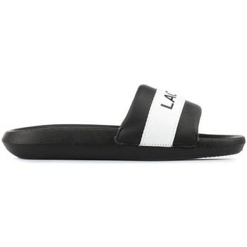 kengät Naiset Rantasandaalit Lacoste Croco Slide Valkoiset, Mustat