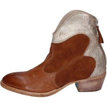 kengät Naiset Nilkkurit Moma BH280 Ruskea