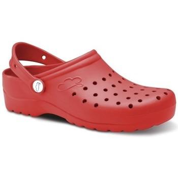 kengät Miehet Puukengät Feliz Caminar Zuecos Sanitarios Flotantes Gruyere - Punainen