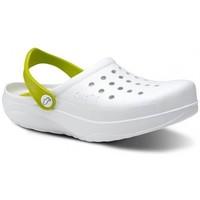 kengät Miehet Puukengät Feliz Caminar Zuecos Sanitarios Kinetic - Valkoinen