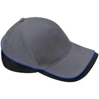 Asusteet / tarvikkeet Lippalakit Beechfield B171 Grey/Black/Bright Royal Blue