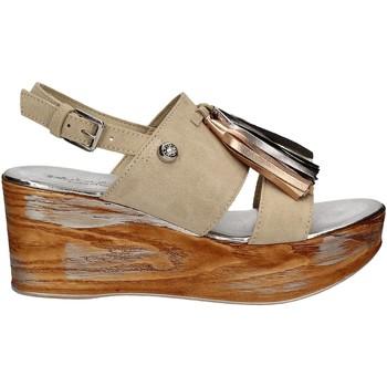kengät Naiset Sandaalit ja avokkaat Byblos Blu 672213 Beige