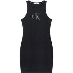 vaatteet Naiset Lyhyt mekko Calvin Klein Jeans J20J215663 Musta