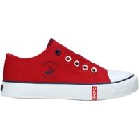 kengät Lapset Matalavartiset tennarit Beverly Hills Polo Club S21-S00HK535 Punainen