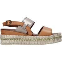 kengät Naiset Sandaalit ja avokkaat Bueno Shoes 21WS5200 Ruskea