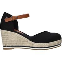 kengät Naiset Espadrillot Refresh 72740 Musta