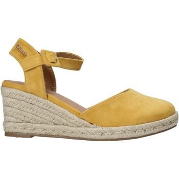 kengät Naiset Sandaalit ja avokkaat Refresh 72858 Keltainen