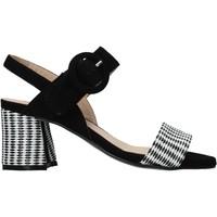 kengät Naiset Sandaalit ja avokkaat Carmens Padova 45107 Musta