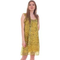 vaatteet Naiset Lyhyt mekko Gaudi 111FD15051 Keltainen