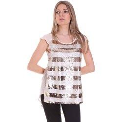 vaatteet Naiset Topit / Puserot Gaudi 111BD45033 Vaaleanpunainen