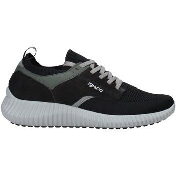 kengät Miehet Tennarit IgI&CO 7124200 Musta