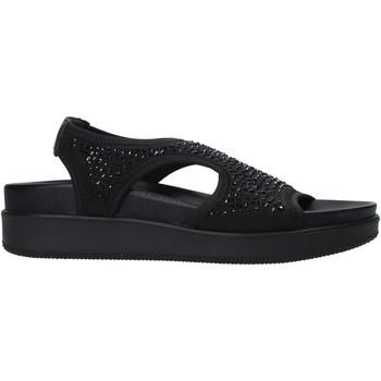 kengät Naiset Sandaalit ja avokkaat Enval 7281300 Musta