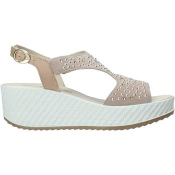 kengät Naiset Sandaalit ja avokkaat Enval 7280122 Beige