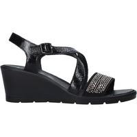 kengät Naiset Sandaalit ja avokkaat Enval 7279100 Musta