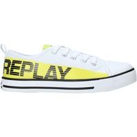kengät Lapset Matalavartiset tennarit Replay GBV24 .003.C0002T Valkoinen