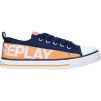 kengät Lapset Matalavartiset tennarit Replay GBV24 .003.C0002T Sininen