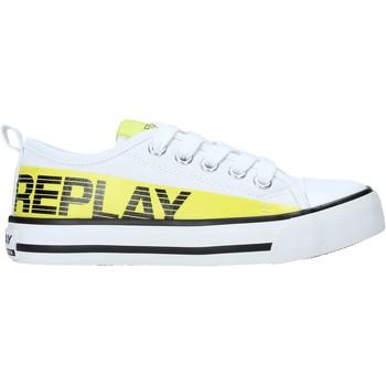 kengät Lapset Matalavartiset tennarit Replay GBV24 .322.C0002T Valkoinen