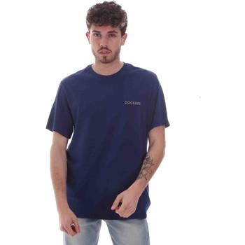 vaatteet Miehet Lyhythihainen t-paita Dockers 27406-0116 Sininen