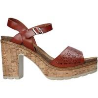 kengät Naiset Sandaalit ja avokkaat Refresh 72690 Ruskea