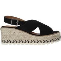 kengät Naiset Sandaalit ja avokkaat Refresh 72854 Musta