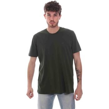 vaatteet Miehet Lyhythihainen t-paita Key Up 2M915 0001 Vihreä