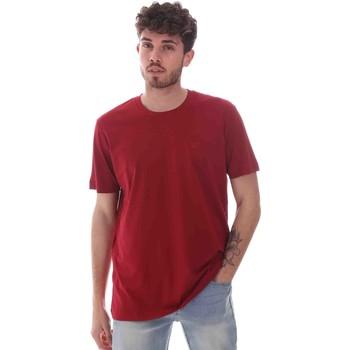 vaatteet Miehet Lyhythihainen t-paita Key Up 2M915 0001 Punainen
