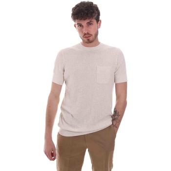 vaatteet Miehet Lyhythihainen t-paita Antony Morato MMSW01179 YA500068 Beige