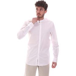 vaatteet Miehet Pitkähihainen paitapusero Sseinse CE639SS Valkoinen