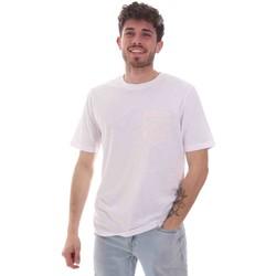 vaatteet Miehet Lyhythihainen t-paita Sseinse TE1852SS Valkoinen