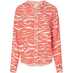 vaatteet Naiset Paitapusero / Kauluspaita Calvin Klein Jeans K20K202730 Oranssi