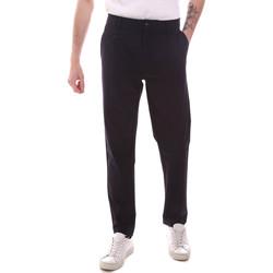 vaatteet Miehet Chino-housut / Porkkanahousut Gaudi 111GU25068 Sininen