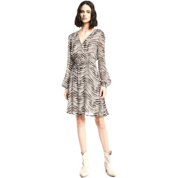 vaatteet Naiset Lyhyt mekko Gaudi 111BD15011 Beige