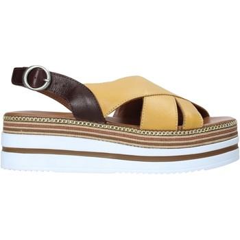 kengät Naiset Sandaalit ja avokkaat Bueno Shoes 21WS5704 Keltainen