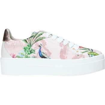 kengät Naiset Matalavartiset tennarit Alviero Martini P806 622A Vaaleanpunainen