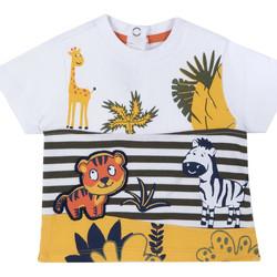 vaatteet Lapset Lyhythihainen t-paita Chicco 09067093000000 Valkoinen
