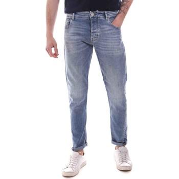 vaatteet Miehet Slim-farkut Gaudi 111GU26044 Sininen