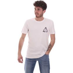 vaatteet Miehet Lyhythihainen t-paita Antony Morato MMKS02005 FA100144 Valkoinen