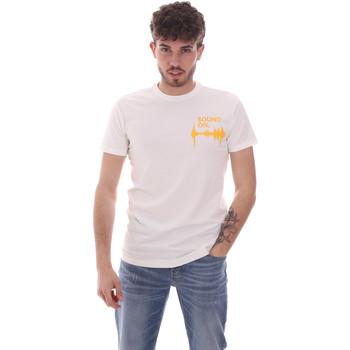 vaatteet Miehet Lyhythihainen t-paita Antony Morato MMKS02002 FA120001 Valkoinen