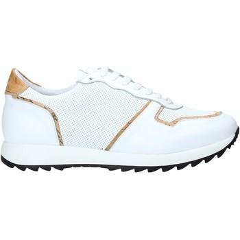 kengät Miehet Matalavartiset tennarit Alviero Martini P170 306A Valkoinen